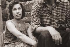 9А.Д. Тихомиров с женой Натальей. 1952