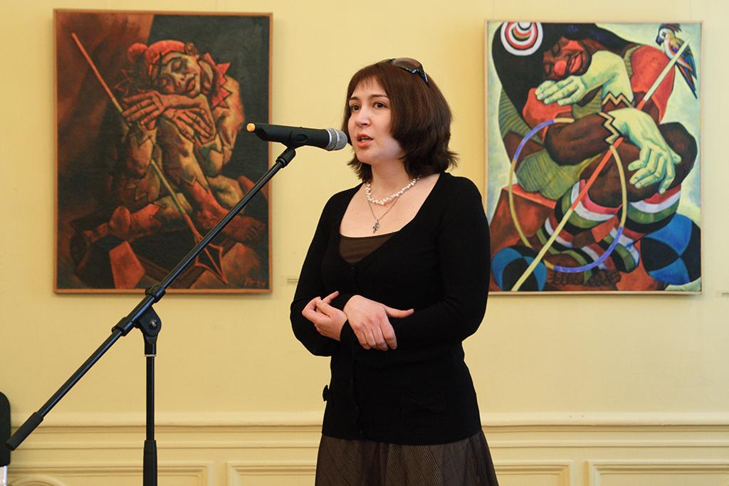 Е.Гоголева. Русский музей. 2011