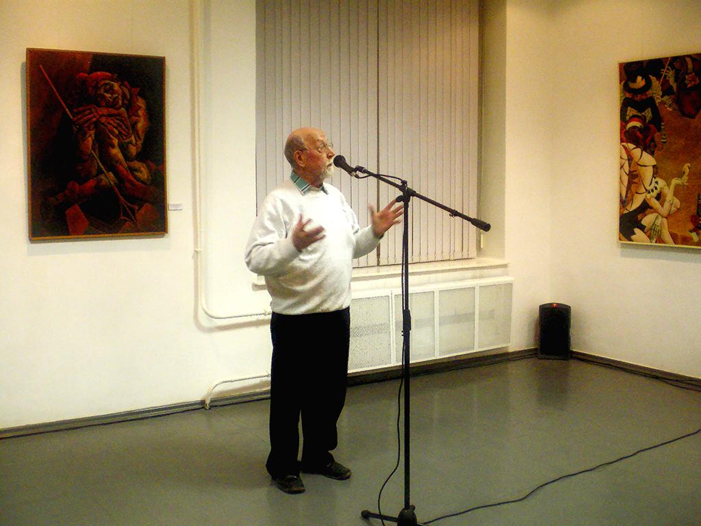 Л.Ф,Дьяконицын. Выставка А.Д.Тихомиров. Галерея А3.М.2009